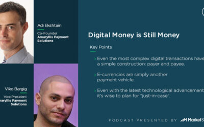 Podcast: Digital Money is Still Money with Adi Ekshtain and Viko Bargig of Amaryllis Payment Solutions