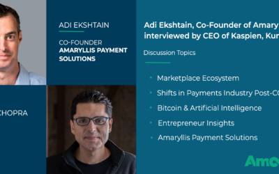 Kaspien Interviews Co-Founder, Adi Ekshtain