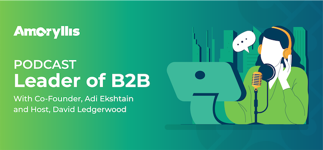 Co-Founder, Adi Ekshtain, is interviewed on Leaders of B2B Podcast